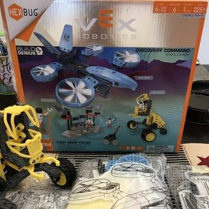 HEXBUG VEX Robotics kit Discover Command Center